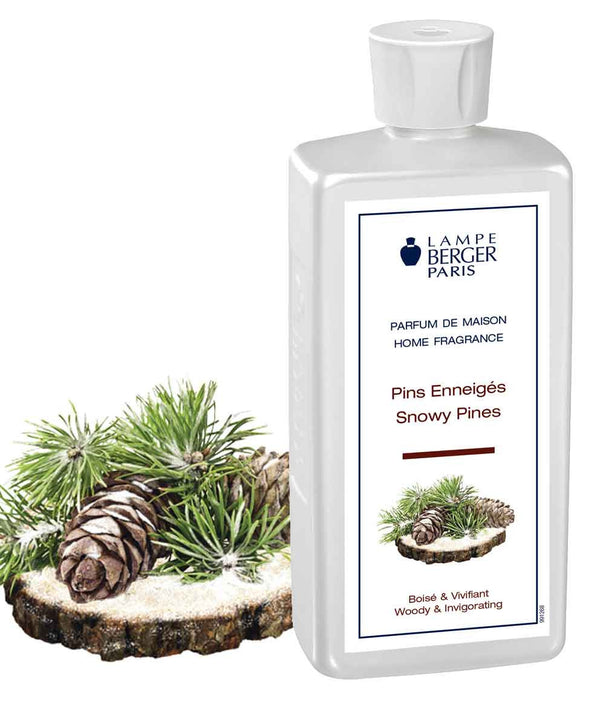 Lampe Berger Parfum Pins Enneigés 500ml, Snowy Pines - PHILmed 24 Online Shop