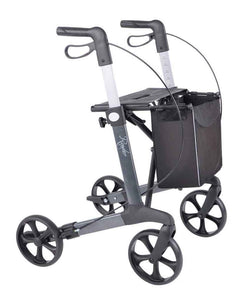 Rehasense lightweight Rollator Walker Router, Grey - PHILmed 24 Online Shop