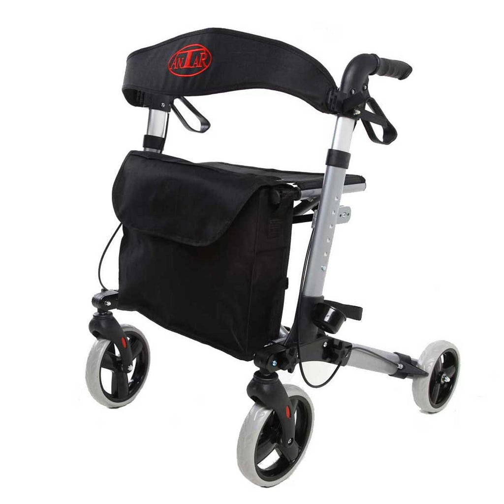 Antar lightweight Rollator for travel AT51006 Grey - online Shop Philmed24 Gesundheit