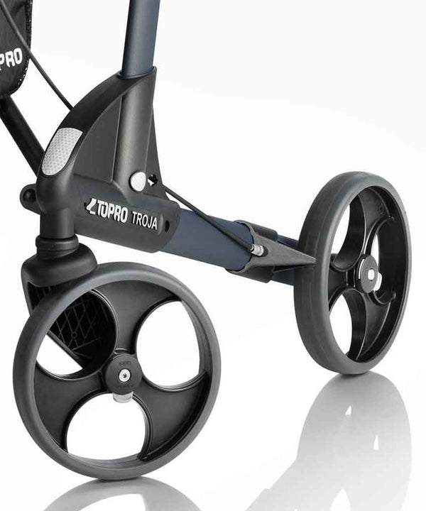 TOPRO Rollator Walker Troja 2G Basic, grey - PHILmed 24 Online Shop