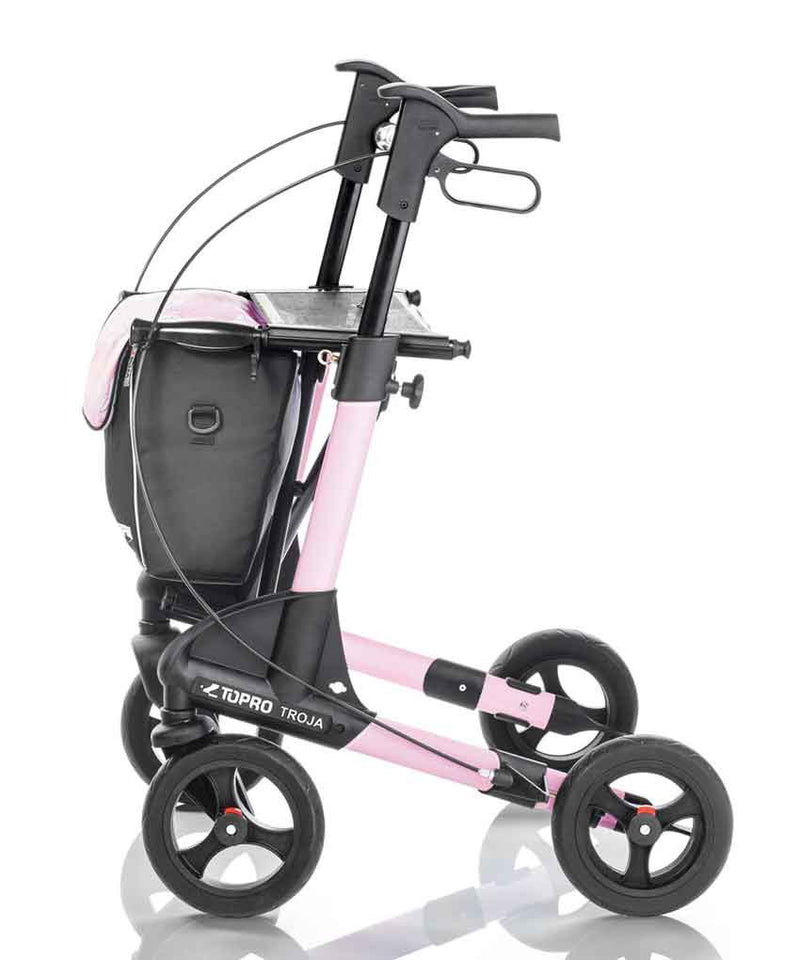 TOPRO Rollator Walker Troja 2G Premium, Rose Sublime - PHILmed 24 Online Shop