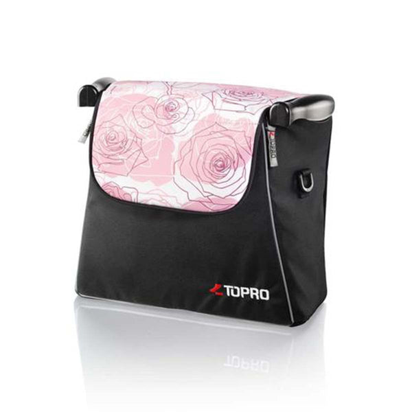 Topro Shopping bag detachable, Rollator Accessory for Troja, Troja 2G, rose sublime