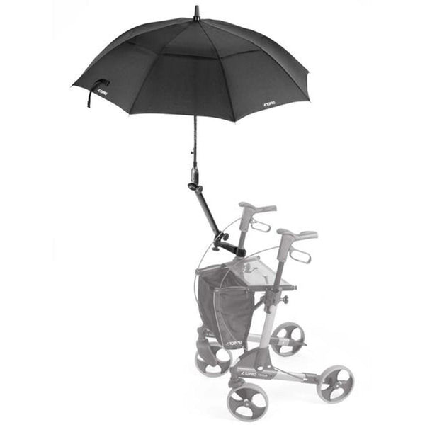 Topro Umbralle with attachment, Rollator Accessory for Troja, Troja 2G, Olympos, black