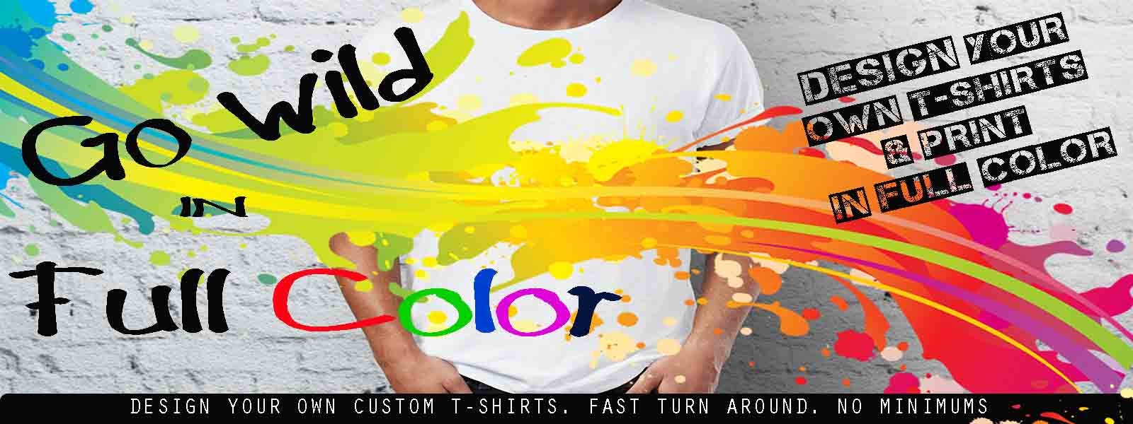 Go Wild in Full Color