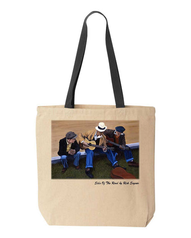 Side of the Road-Tote Bag by Rick Seguso-canvas