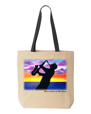 Blues at Sunrise Tote Bag by Rick Seguso