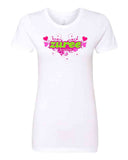 Ladies T-shirts - ZUREE hearts Logo
