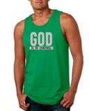 God is in Control - Male Tank Top