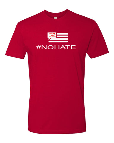 #No Hate - Unisex T-Shirts - Speak Out Brevard