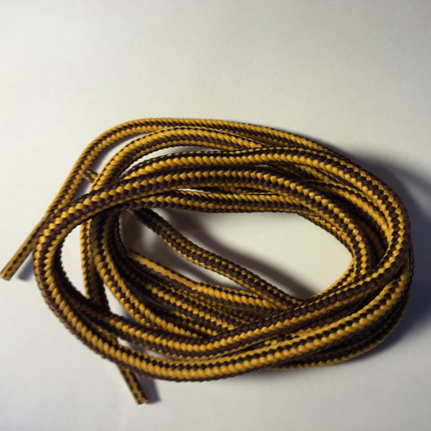Tobby Outdoor Heavy Duty (Gold/Brown) | Super strong Shoelaces