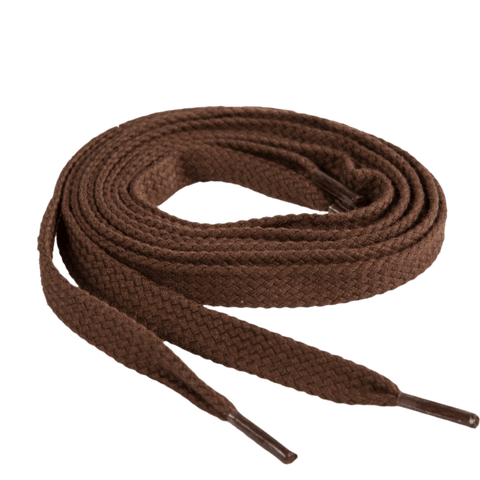 Thick Flat (Brown) | Shoelaces