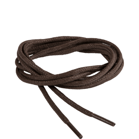 Thin Waxed Round (Dark brown) | Shoelaces