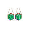 Noor-Fares-Emerald-Sapphire-Pave-Diamond Earrings-2