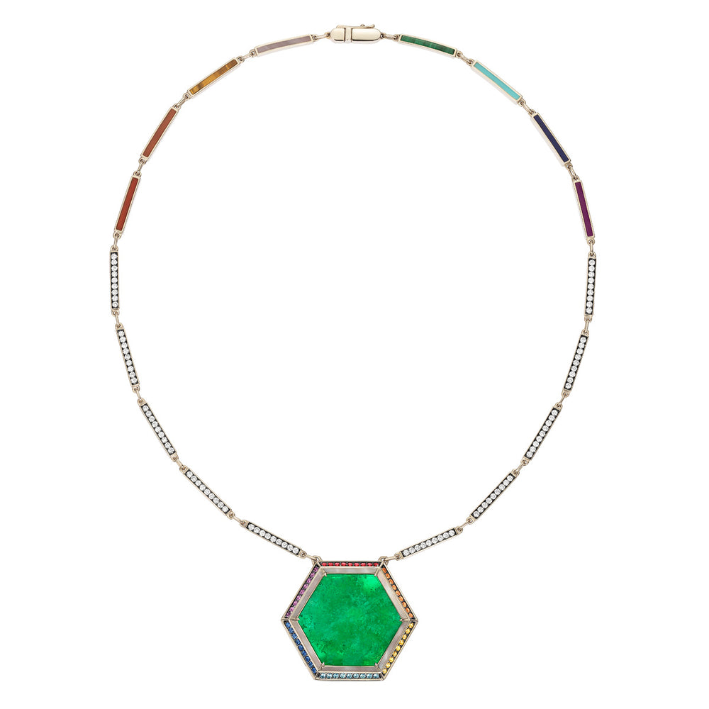 Noor-Fares-Emerald-Sapphire-Pave-Diamond-Necklace-1