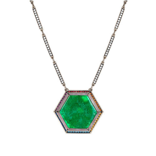Noor-Fares-Emerald-Sapphire-Pave-Diamond-Necklace-2