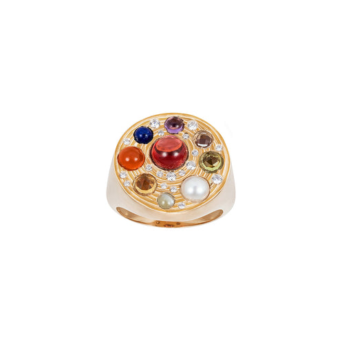 Noor-Fares-Coloured-Gemstone-Diamond-Ring