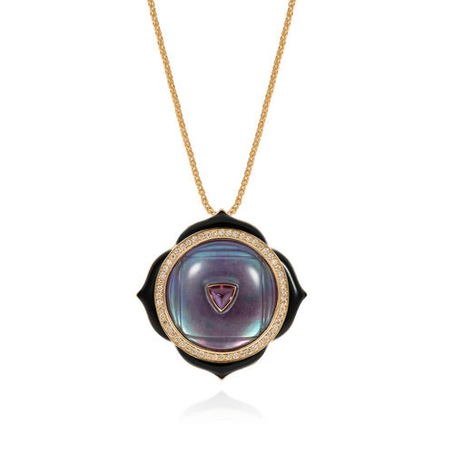 Noor-Fares-Rock-Ruby-Crystal-Mother-of-Pearl-Diamonds-Pendant-1