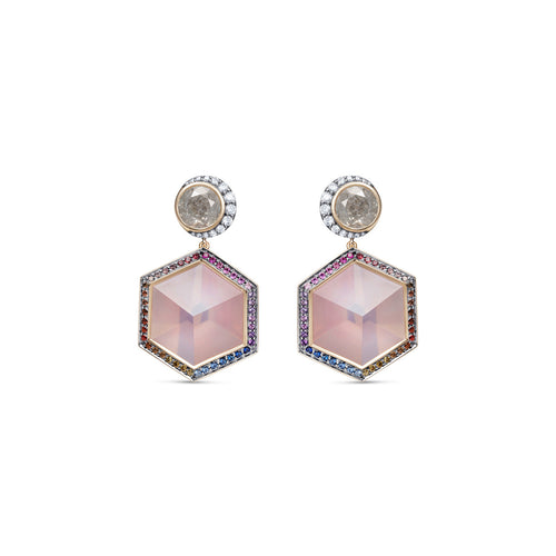 Noor-Fares-Rose-Quartz-Earrings