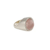 Rose Quartz Aurora Ring