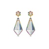 Noor Fares Madhya Sapphire Rock Crystal Earrings