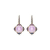 Noor Fares Nirvana Amethyst Sapphire Diamond Earrings