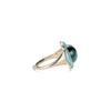 Noor Fares Nirvana Blue Tourmaline Pinkie Ring