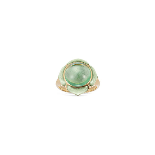 Noor Fares Nirvana Green Tourmaline Pinkie Ring