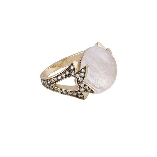 Rock Crystal Amore Ring