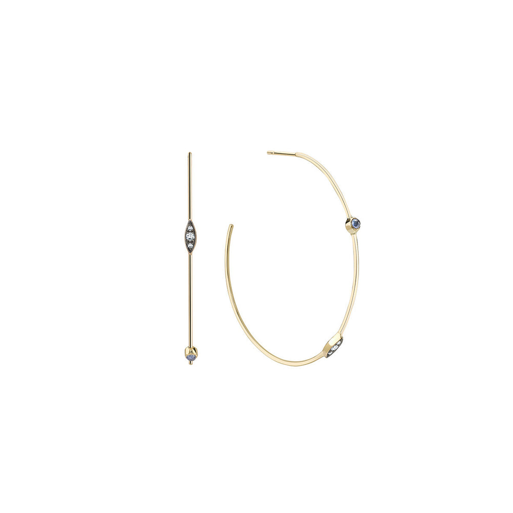 Noor-Fares-Gold-Diamond-Hoops-Earrings