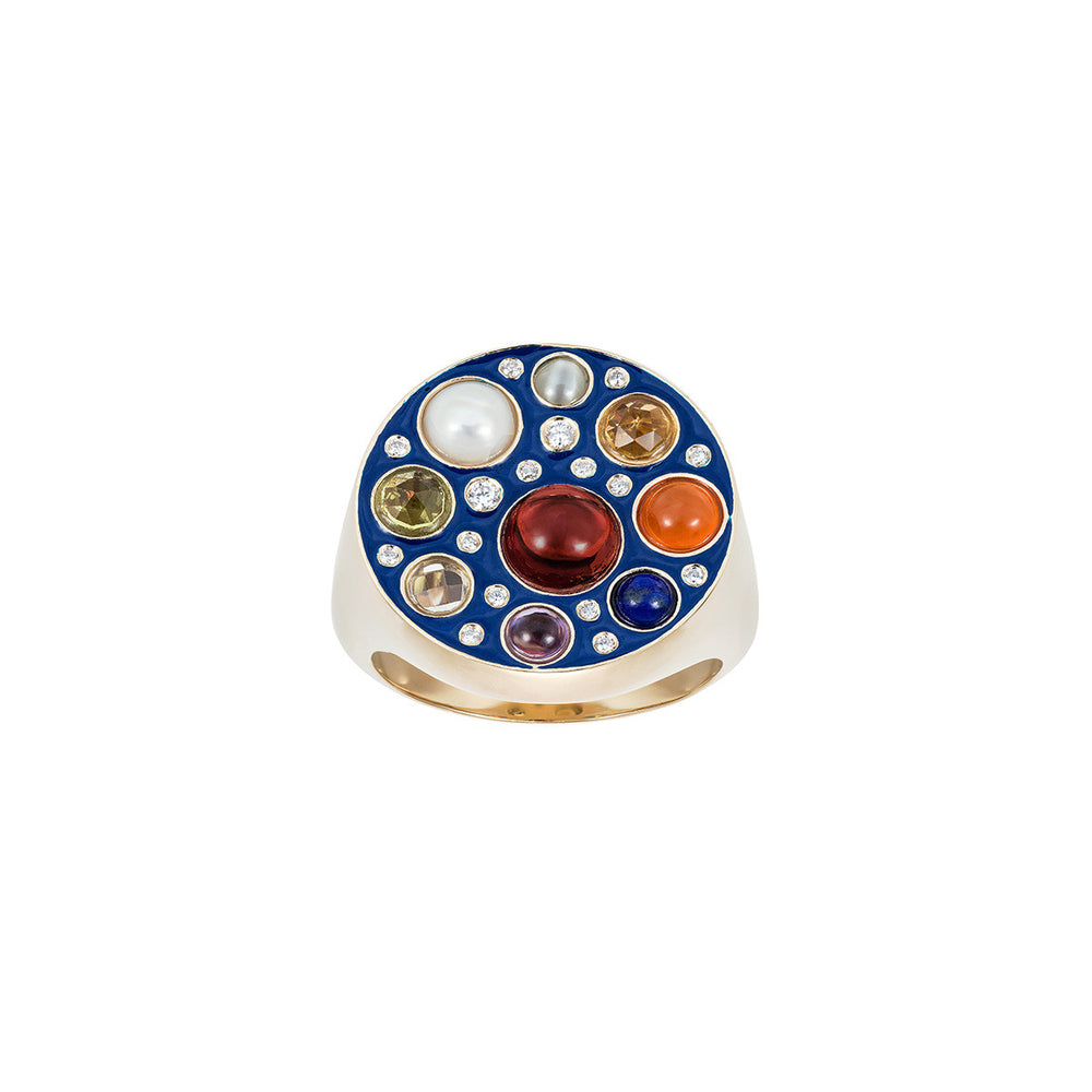 Upratna Enamelled Seal Ring