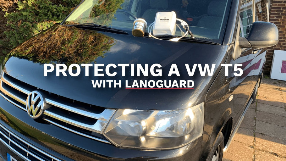 Rustproofing a 10-year-old Volkswagen T5 with Lanoguard
