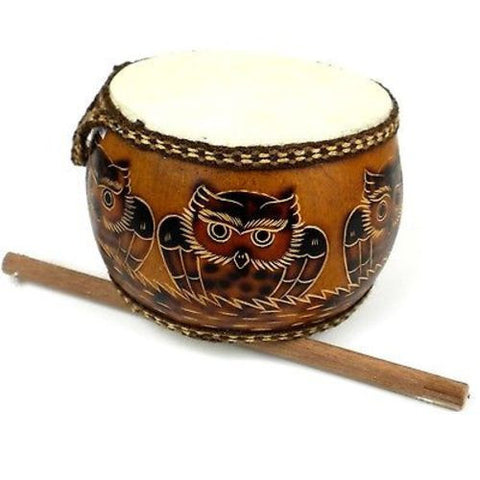 Owl's Nest Drum Handmade and Fair Trade