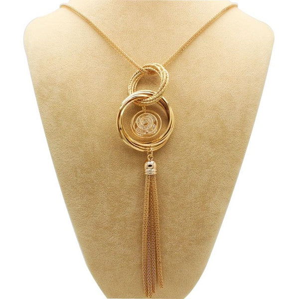 Necklaces & Pendants Statement Tassels Necklace