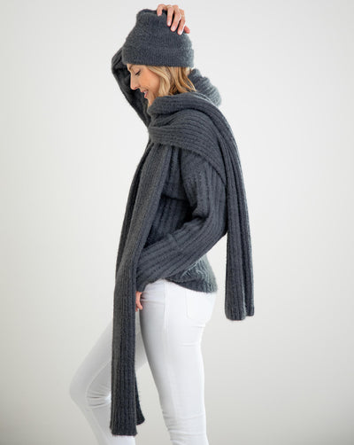 Chalet Ribbed Scarf