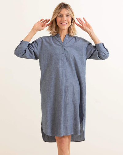 Essential Shirt Dress Chambray / S/M