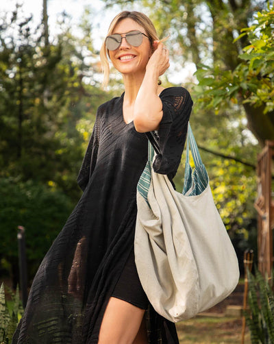Gemini Reversible Tote - Natural