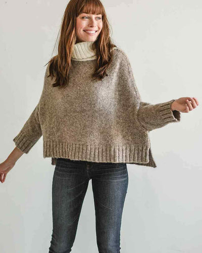 The Lima Luxe Pullover Flax