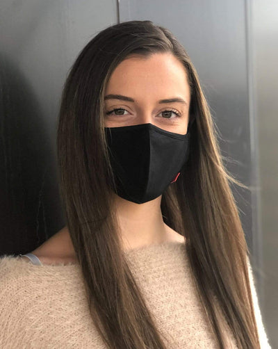 Reusable Face Masks Black