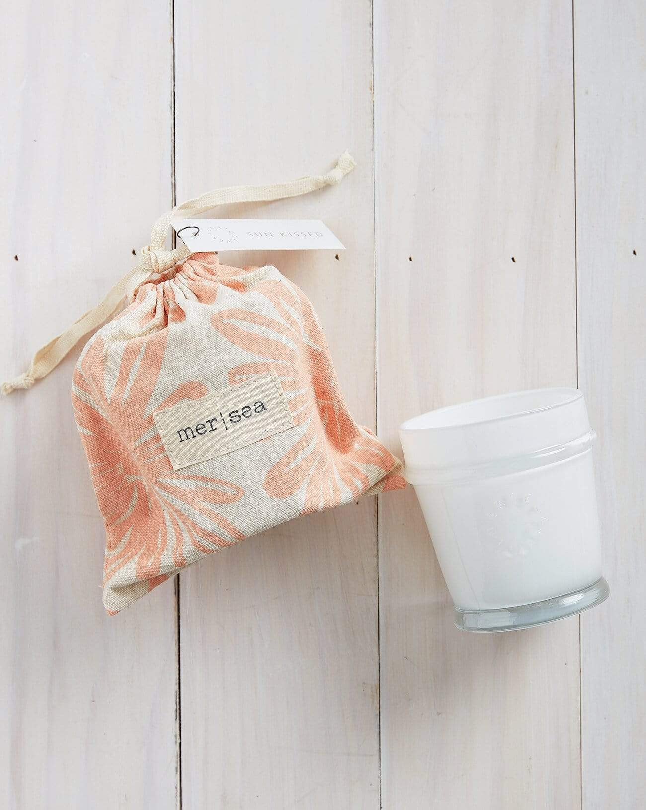 Sun Kissed Printed Sandbag Candle