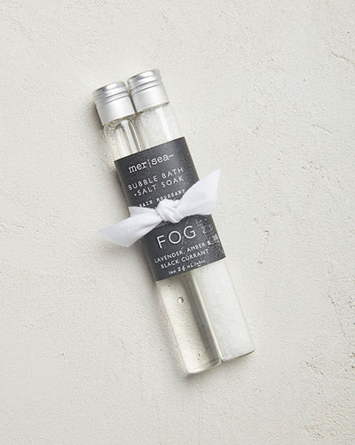 Fog Bubble Bath + Salt Tube Set