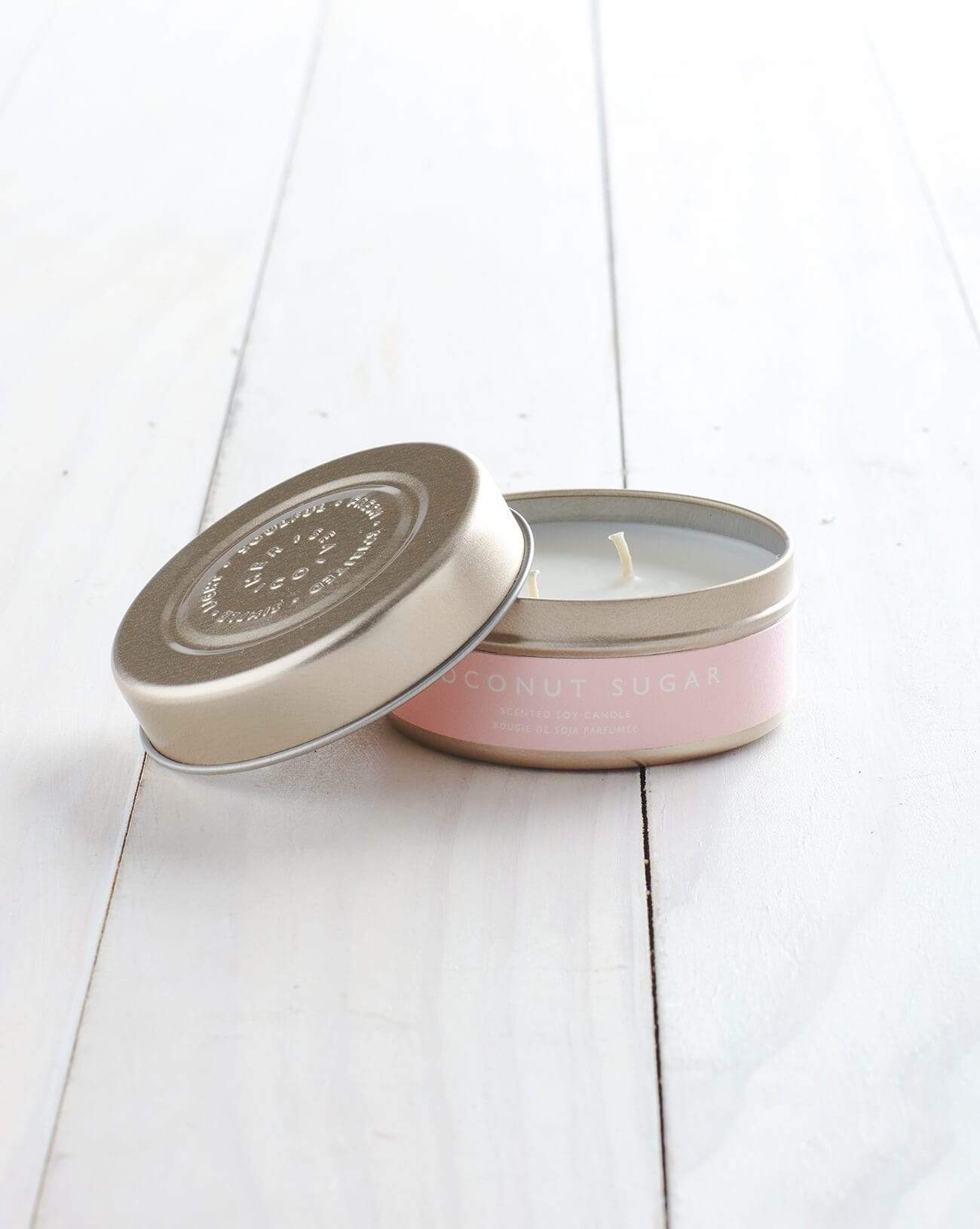 Coconut Sugar Tin Candle