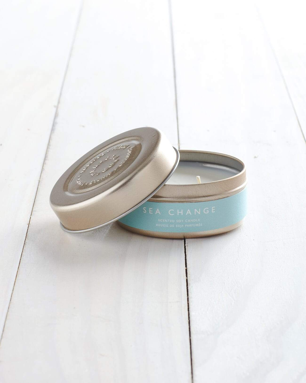 Sea Change Tin Candle