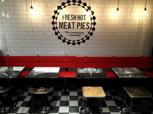custom restaurant furniture, wooden benches, industrial stools toronto