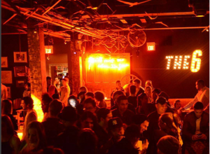 marquee lighting, signage, Toronto, everleigh club