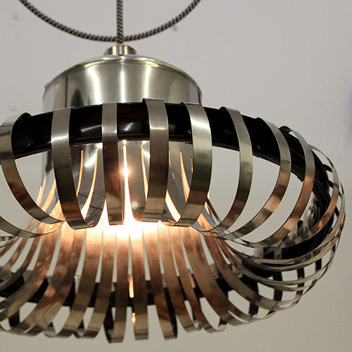 Flared Stainless Pendant