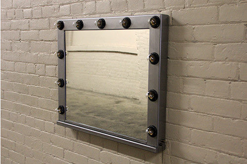 Raw-Steel Mirror