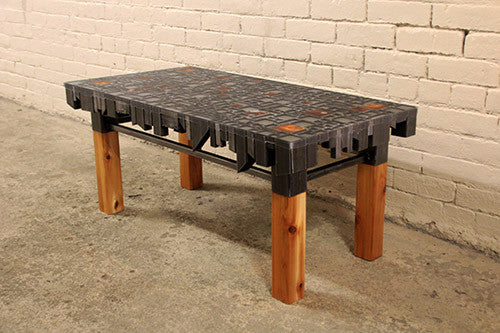 Cut Off Coffee Table