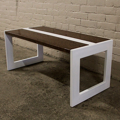 Barn Board Composite Coffee Table