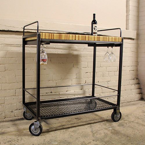 Push Ply Bar-Cart