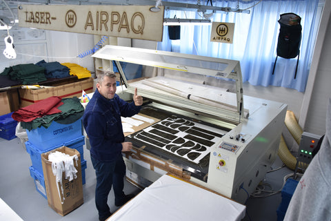 airbag laser cutting